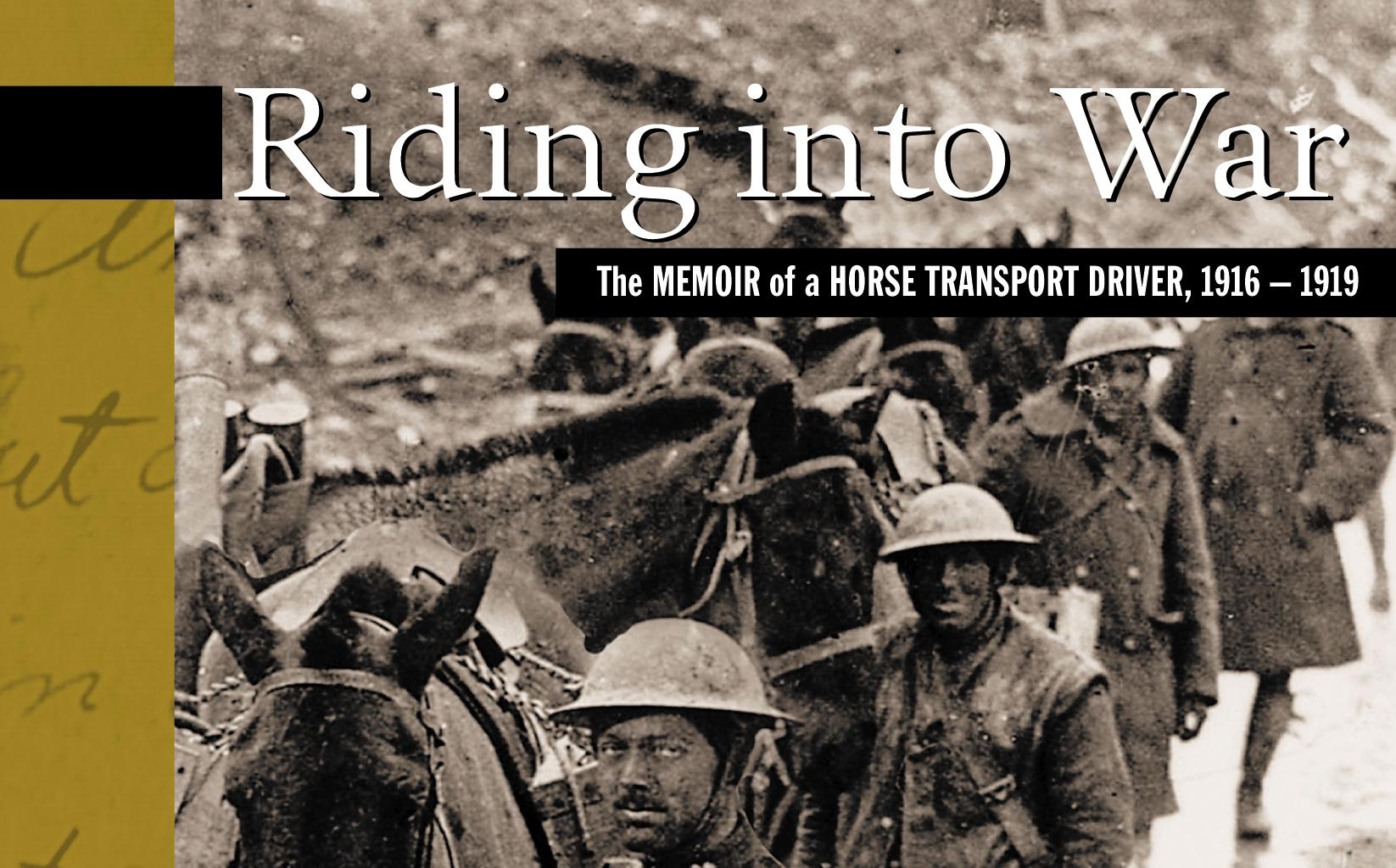 riding into war