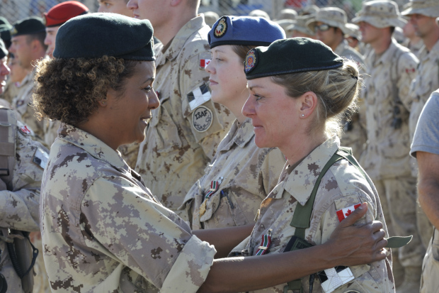Wednesday Video  Women in Combat     About Time Women In The Canadian Military