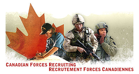 Canadian forces recruiting