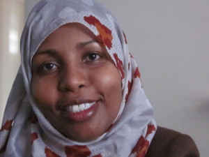 Shukria Dini fled from Somalia at the age of 22 and has now been living in Canada for 17 years.
