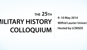*REGISTRATION NOW OPEN* – The 25th Military History Colloquium, 9-10 May 2014