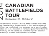 2014 Canadian Battlefields Tour – hosted by Dr. Geoffrey Hayes