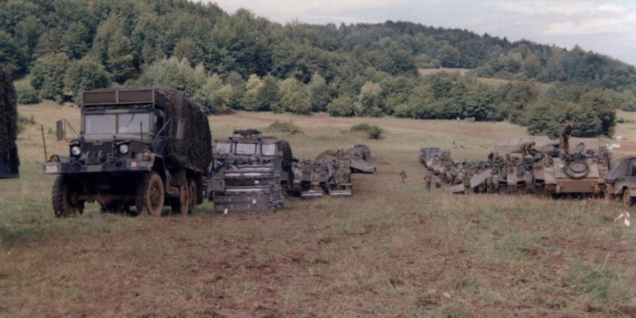 Exercise ReForGer: NATO Protecting Europe in the '70s by Frank Reid (Part 4, 'Ambush')