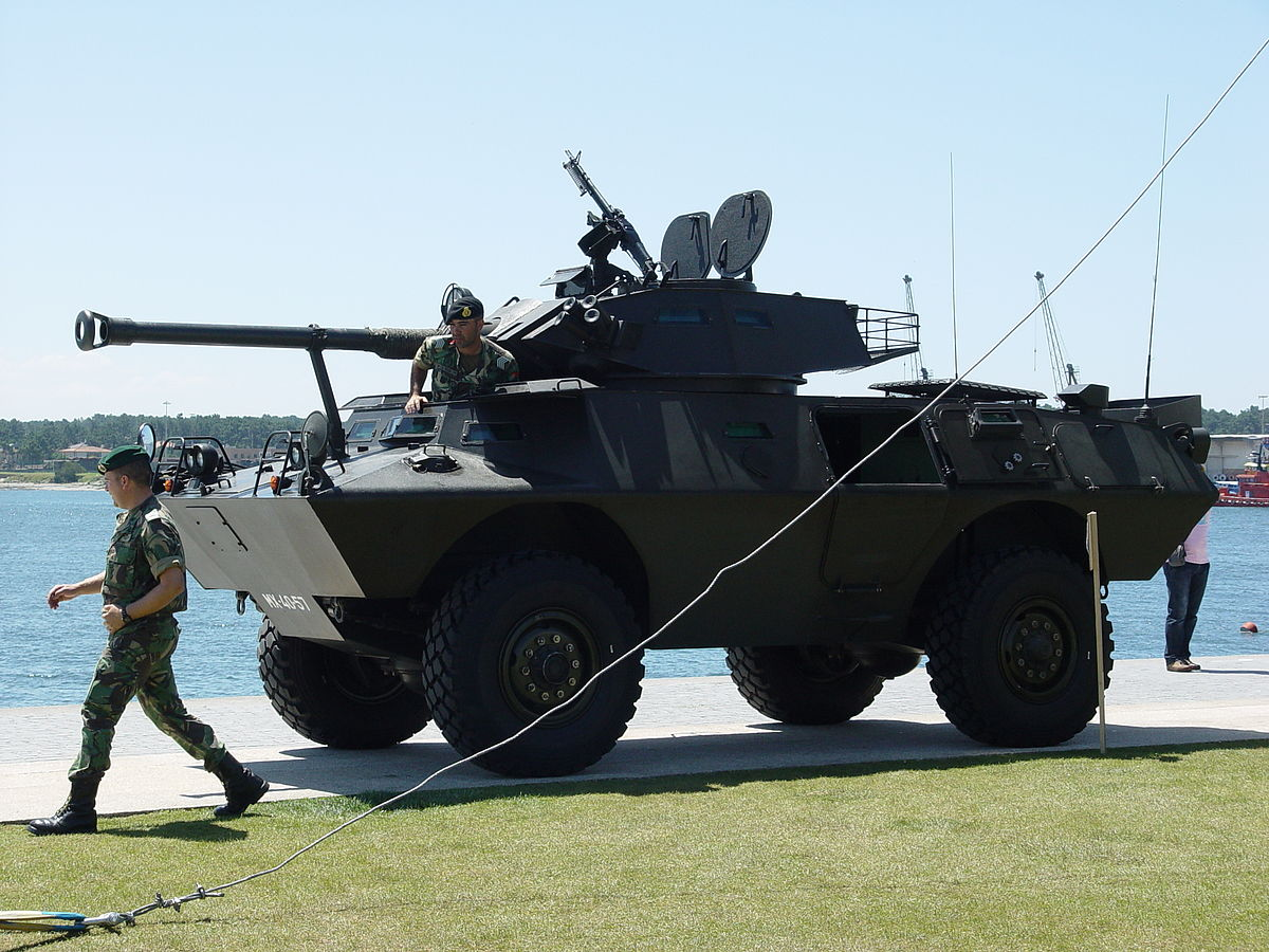 Modernization of US Commando V-150 armored personnel carriers in Thailand