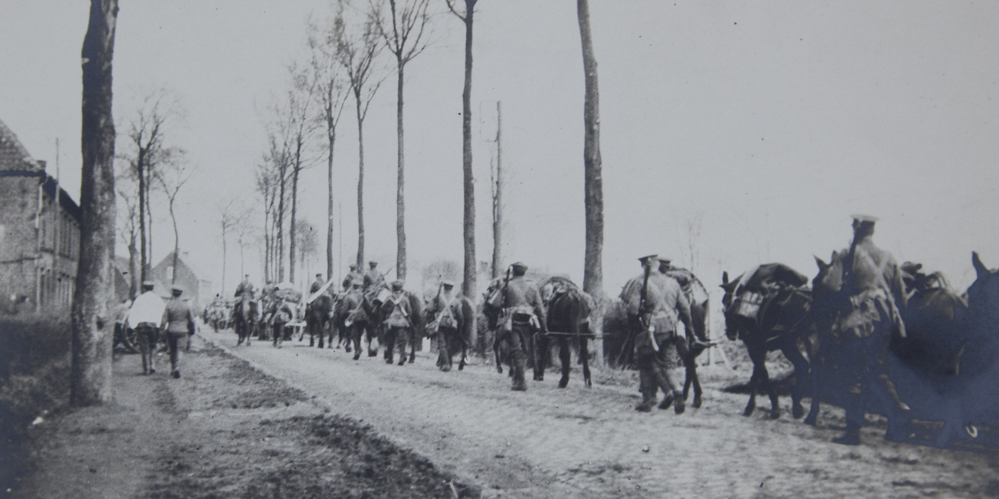 Unofficial photographs show us scenes of the war before official photographers were brought to Europe
