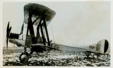 B.E. 2c the main workhorse for squadrons conducting mapping and reconnaissance on the Somme - Official CEF Photo M.902, Canadian War Museum
