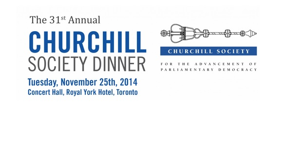 31st Annual Churchill Society Dinner w/ Terry Copp