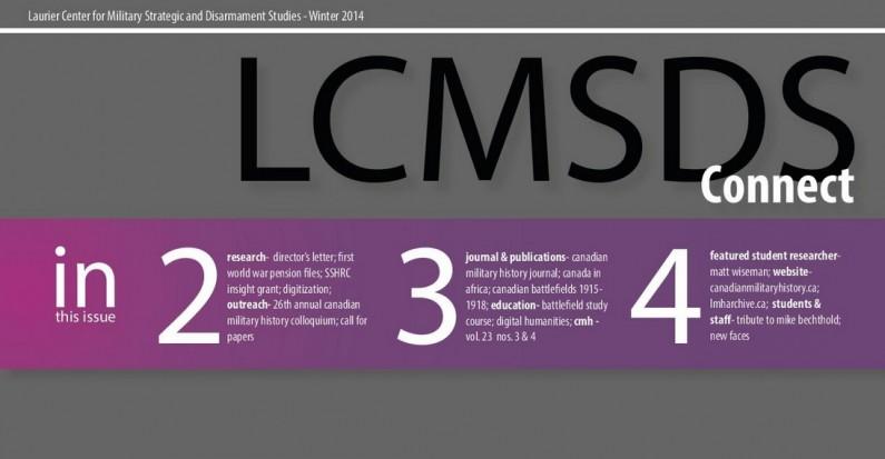 LCMSDS November Newsletter