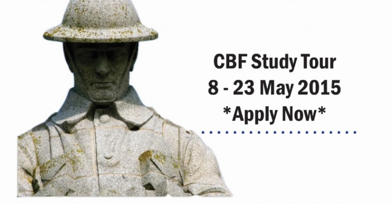 Canadian Battlefields Foundation Study Tour