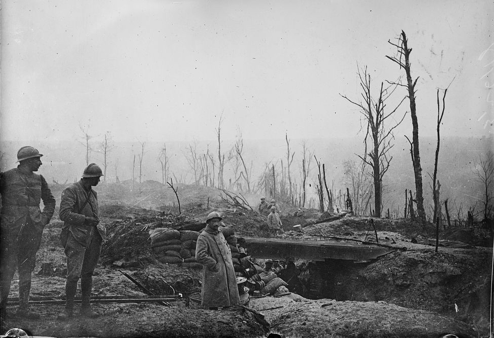 French soldiers at Verdun