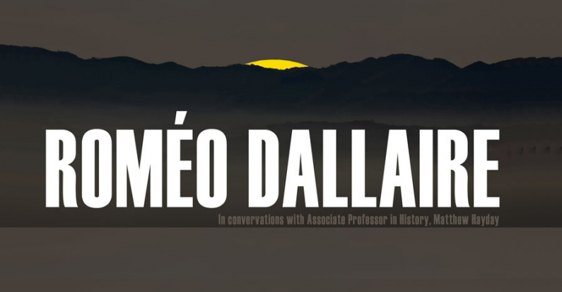 Roméo Dallaire on PTSD, Guelph Oct. 29