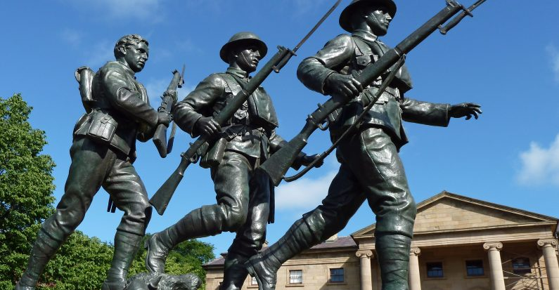 The Glory and the Pity: The Great War Memorial Figures of George Hill and Emanuel Hahn, Part I