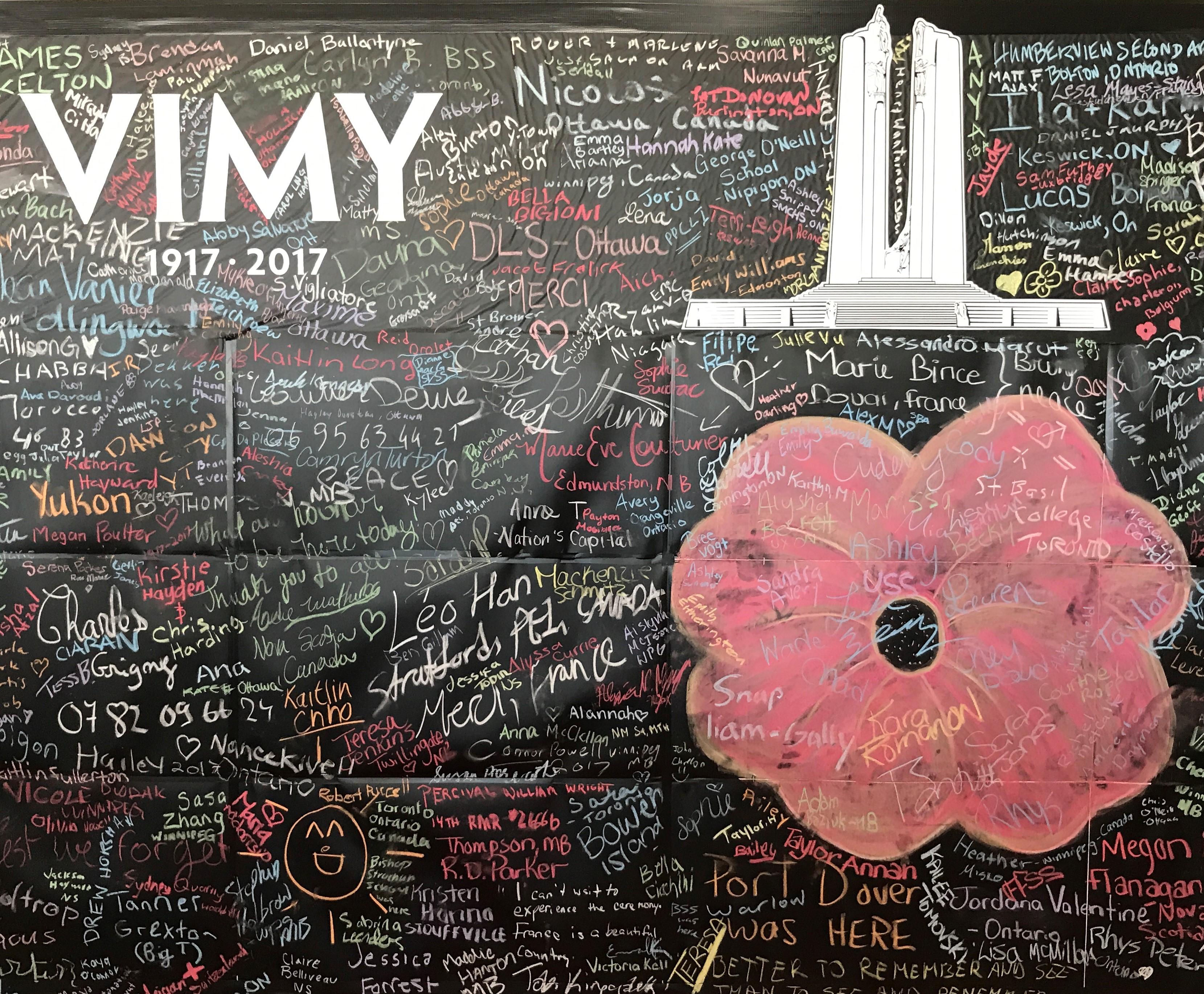 Commemorating Vimy on the Ridge by Katrina Pasierbek