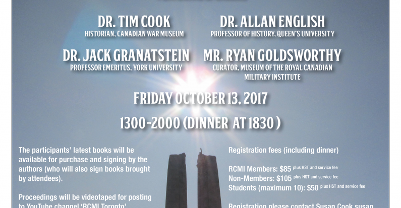 First Annual RCMI Military History Symposium: October 13, 2017