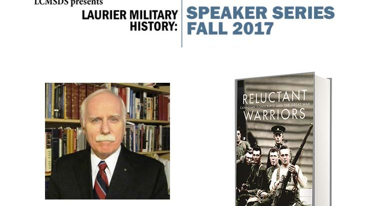 "Military History Speaker Series: Patrick Dennis, ""Canadian Conscripts at War – 1918,"" October 18th"