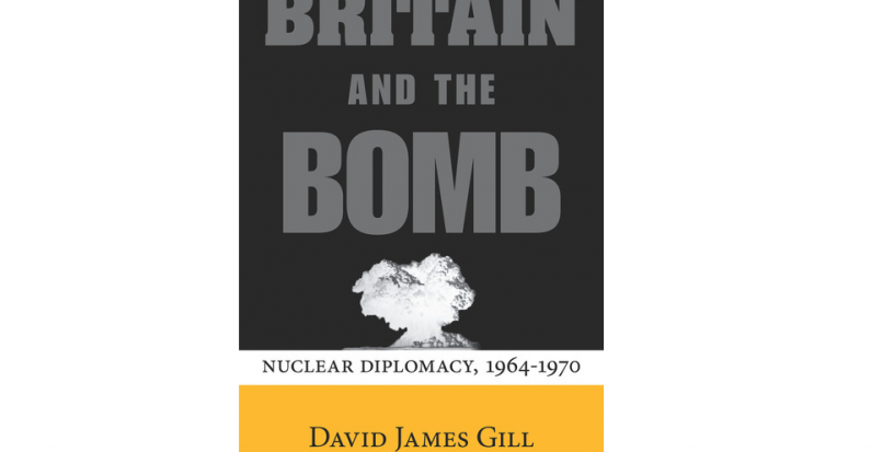 Review of David James Gill's Britain and the Bomb by Joseph A. Buscemi