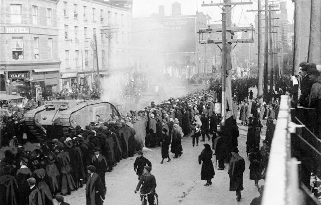 Montréal 14-18: Exhibition of Archival Photographs