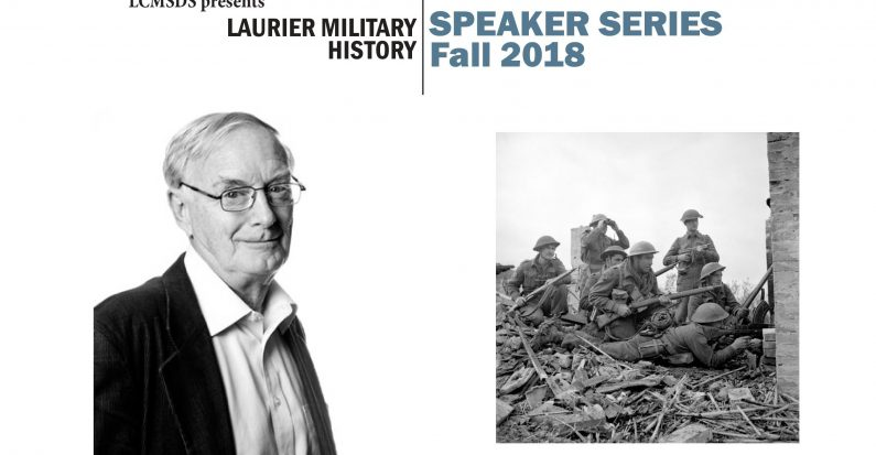"Military History Speaker Series: Terry Copp, ""'The Winter Line: Italy 1943,"" September 19th"