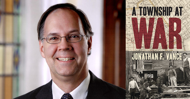 """Speaker Series: Jonathan Vance, """"From Farm to Front: The First World War and Rural Canada,"""" November 7th"""