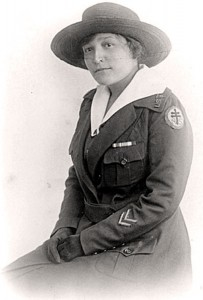 Edith Anderson, from the Six Nation's of the Grand River reserve, served in France until demobilization in 1919