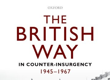 Recension de l'ouvrage de David French The British Way in Counter-Insurgency, 1945-1967 par David Charters