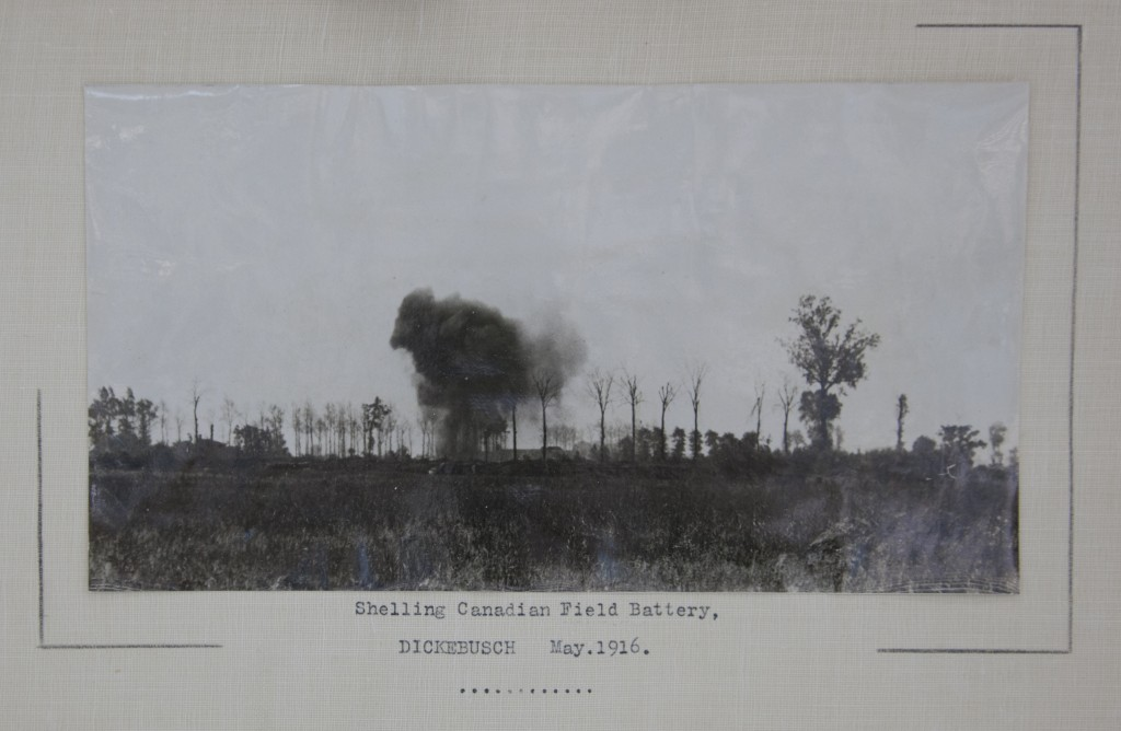 Unofficial photographs of the war show battles at a time when Canada's first official photographer was just coming over to Europe.