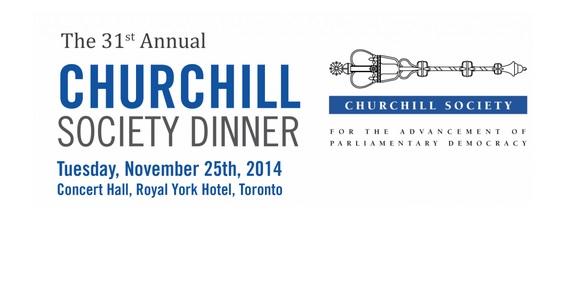 31st Annual Churchill Society Dinner w/ Terry Copp