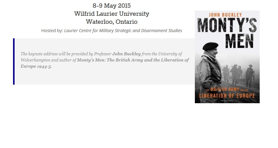 Call for Papers Extended: 26th Annual Canadian Military History Colloquium