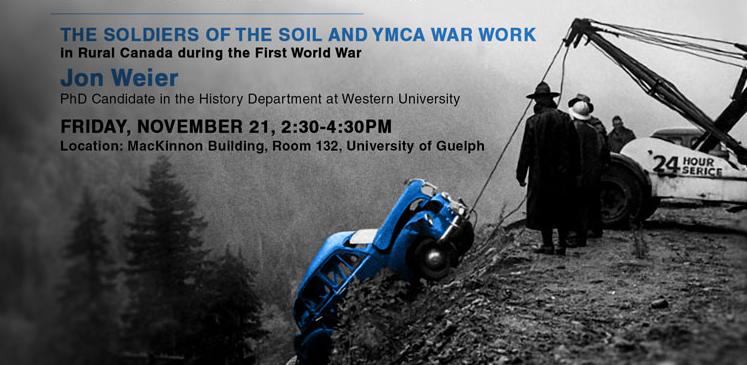 University of Guelph Speaker Series: John Weier, Nov. 21