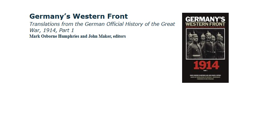Germany's Western Front Wins Choice Award 2014