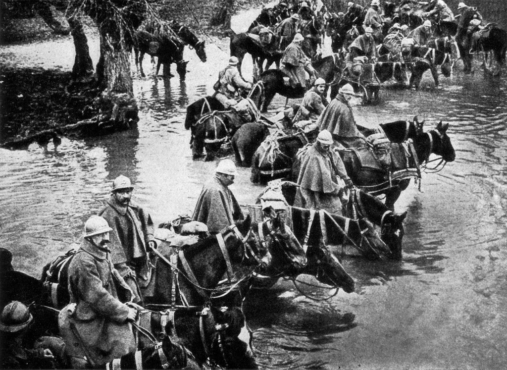 """They shall not pass"" - Verdun river crossing."