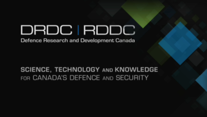 Postdoc: Defence Research and Development Canada (DRDC)