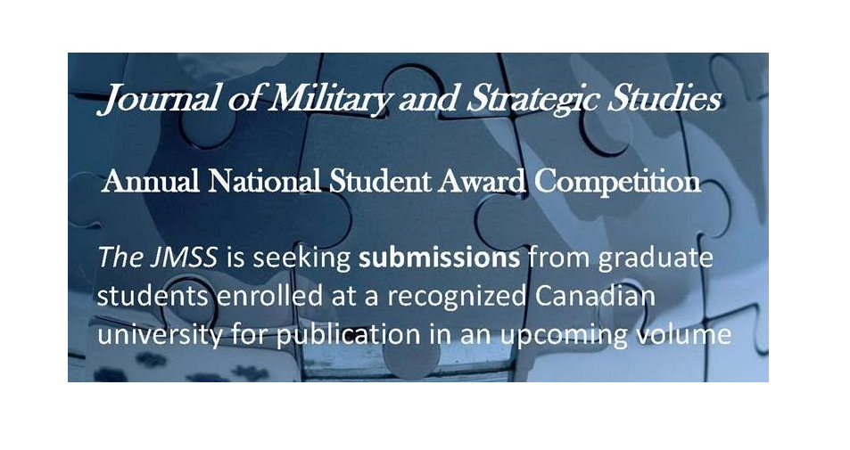 JMSS 2016 Annual National Student Award Competition