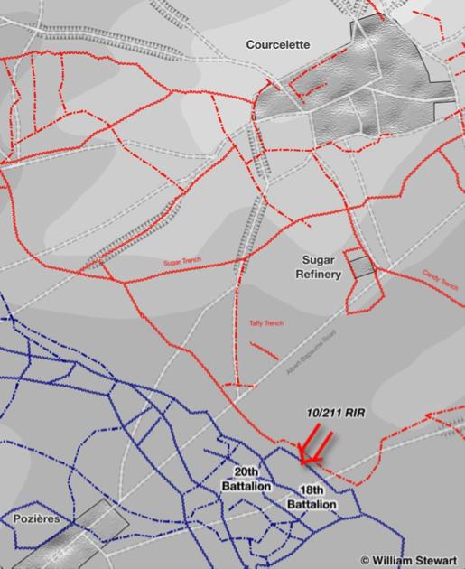 Operations Map, William Stewart.