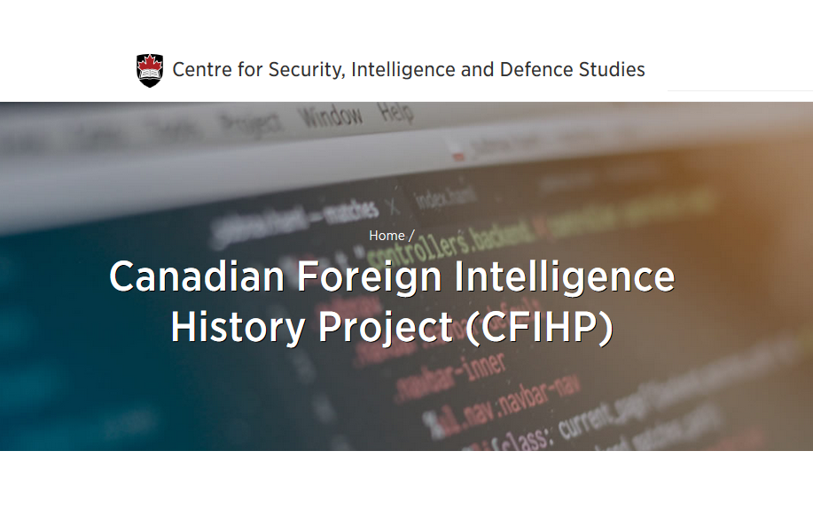 Canadian Foreign Intelligence History Project (CFIHP)