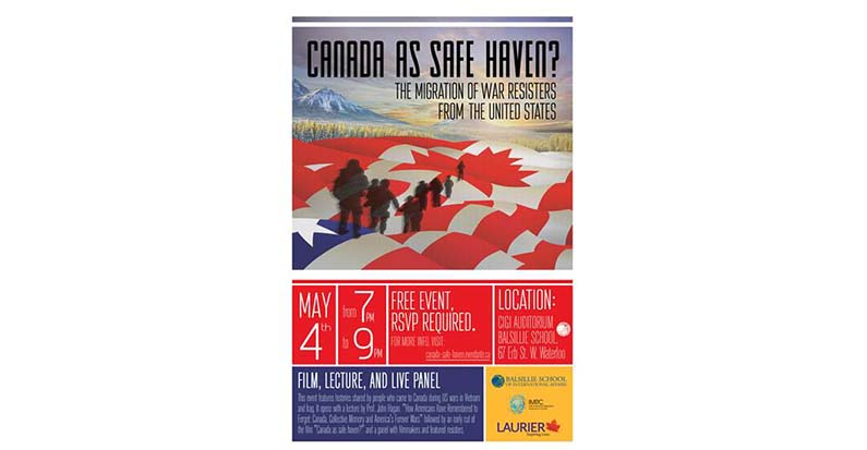 """Dr. John Hagan,  """"How Americans Have Remembered to Forget: Canada, Collective Memory and America's Forever Wars, May 4th, 7pm"""