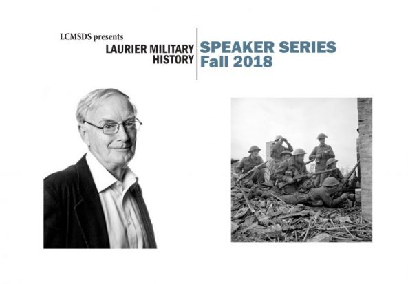 """Military History Speaker Series: Terry Copp, """"'The Winter Line: Italy 1943,"""" September 19th"""