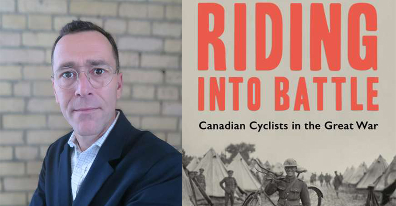 "Guelph Military Lecture Series, Ted Glenn, ""Riding into Battle"" Mar. 28th, 7:00pm"