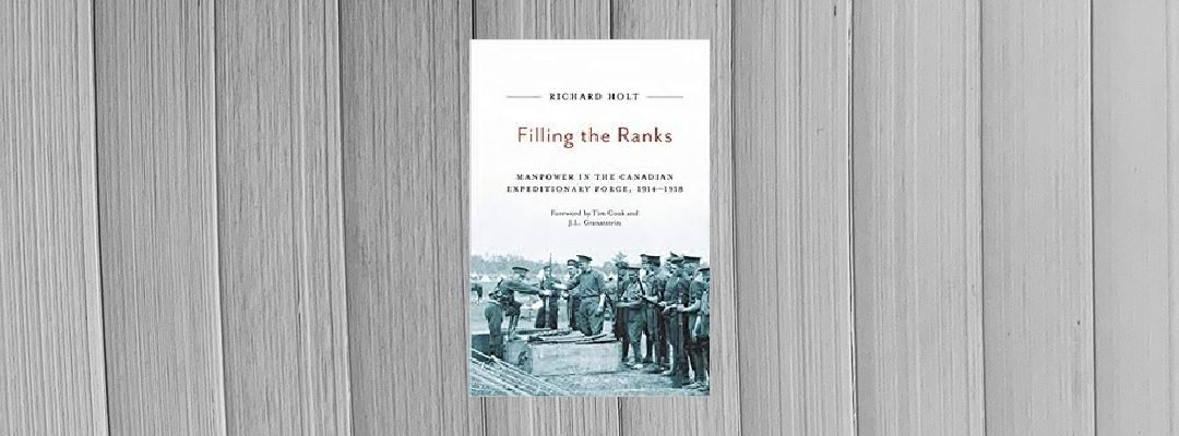 Book Review: Filling the Ranks by Richard Holt