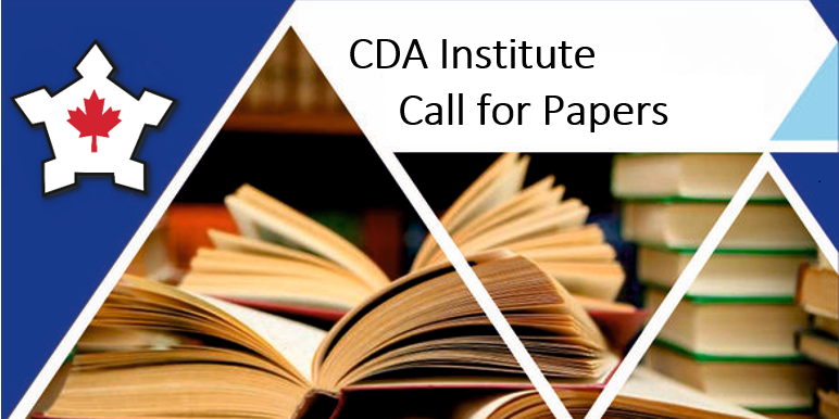 Call for Papers: Submissions to the CDA Institute On Track Publications