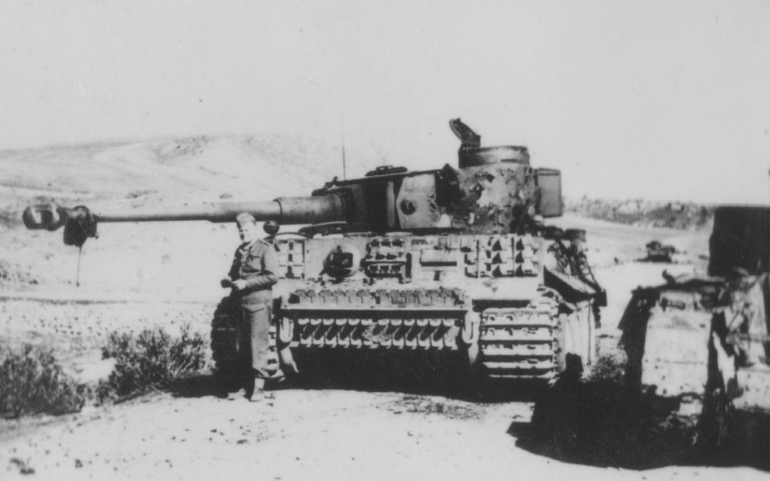 The Canadians who Captured the First Tiger Tanks where No Canadian Forces Fought, Part I