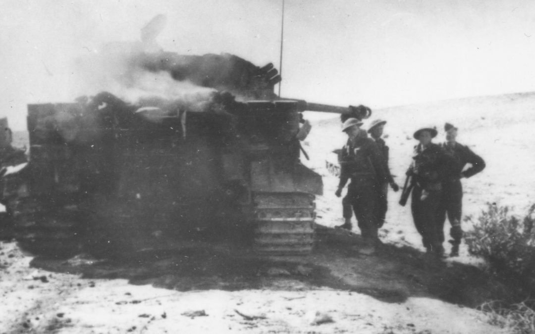 The Canadians who Captured the First Tiger Tanks where No Canadian Forces Fought, Part II