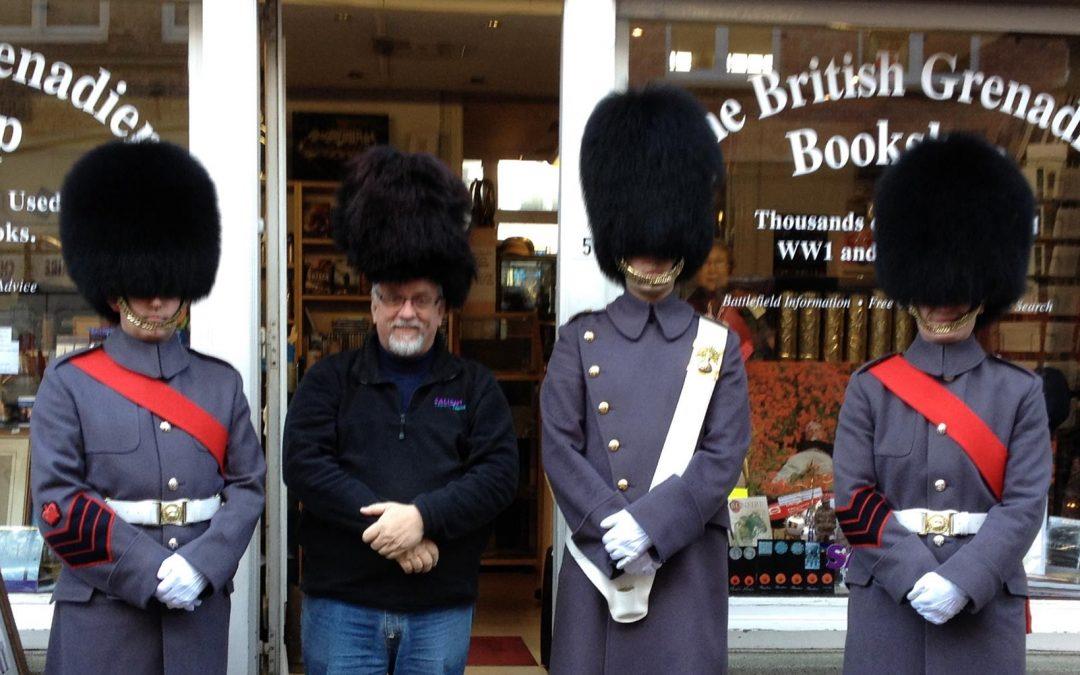 Help the British Grenadier Bookshop